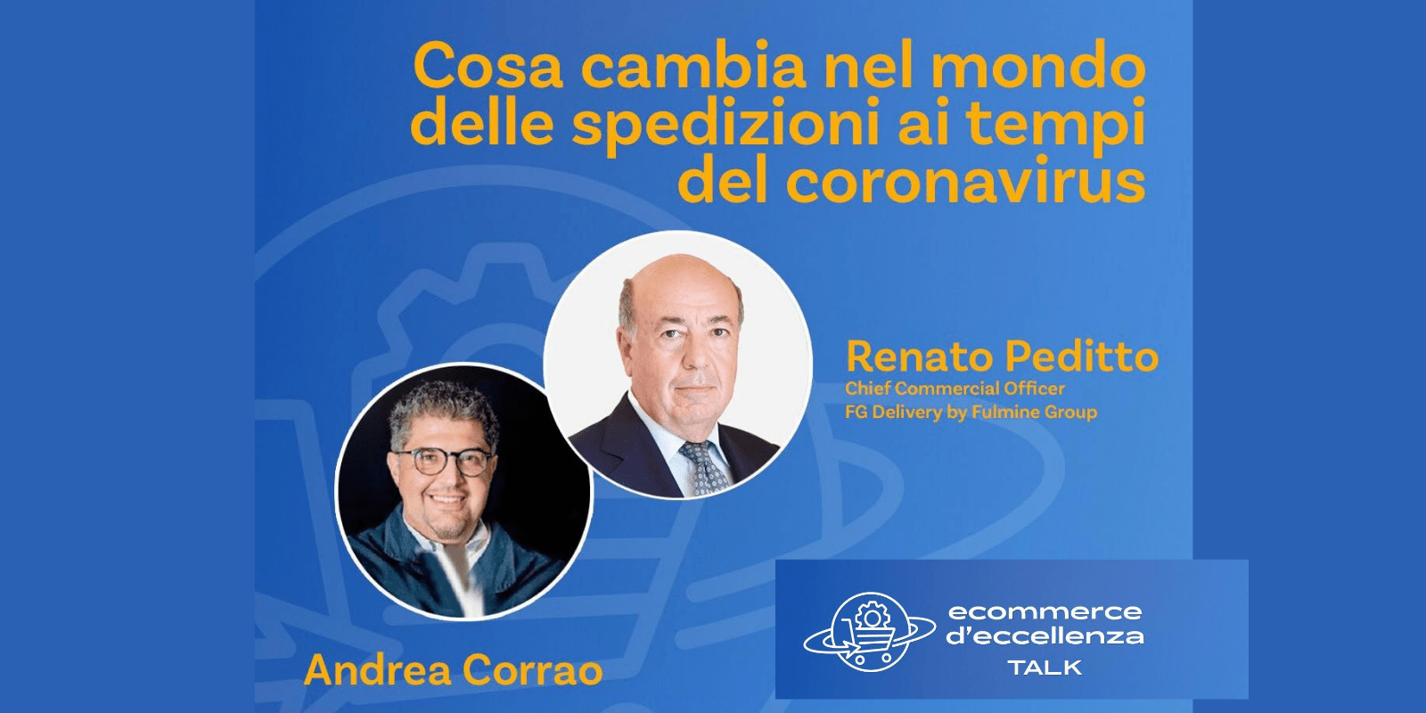 Renato Peditto Partecipa Al Talk Ecommerce D'Eccellenza