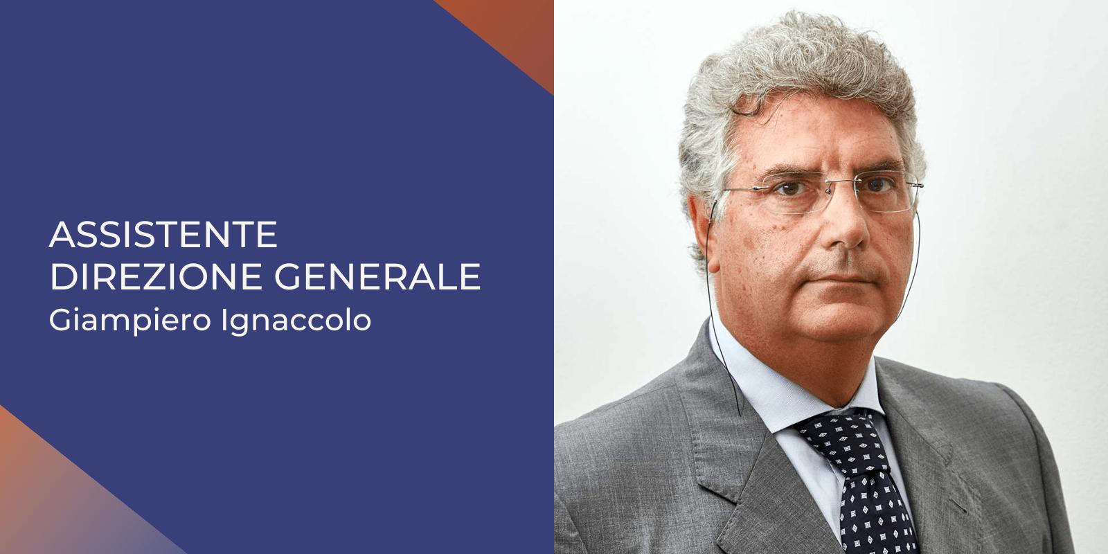 Assistente Direzione Generale Giampiero Ignaccolo